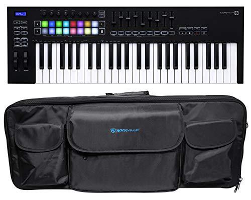 Novation Launchkey 49 MK3 49-Key USB MIDI Ableton Live Keyboard Controller+Bag