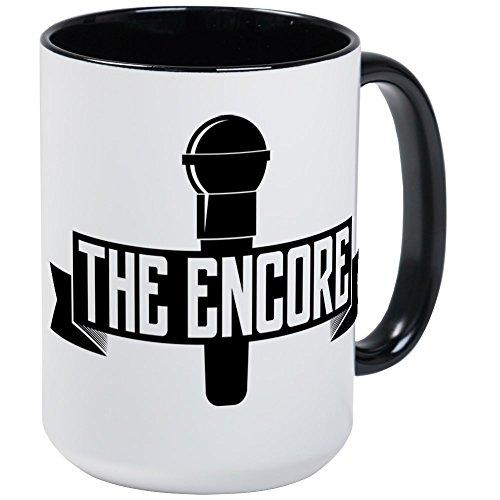 CafePress The Encore Large Mug Coffee Mug, Large 15 oz. White Coffee Cup