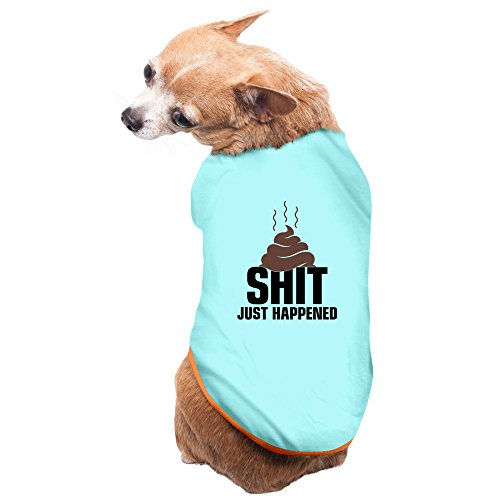 Greenday Defecate Shit Just Happened Cool Pet Doggie Pets Costumes Size L SkyBlue - Diy Costumes For Pets