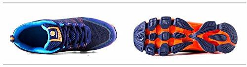 Mzcurse Mens Casual Hardlopen Mode Veelzijdige Sneakers Atletische Sportschoenen Oranje