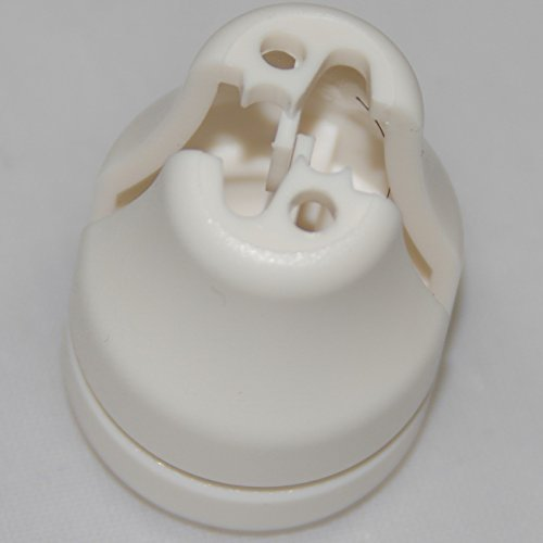 HomeAmore 8 Pack Safety White Blind Knobs. This Tassel Separates The Pull Cords When Excessive Pressure is Detected to Avoid Potential Child Or Pet Strangulation. A Smart Choice for Parents. by HomeAmore (Image #1)