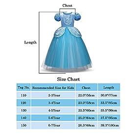 - 41uqUVqDjgL - Children Princess Dress Up Costume Cosplay Dress for Girls Toddlers Party Birthday Girls Dresses Wonderful Gift