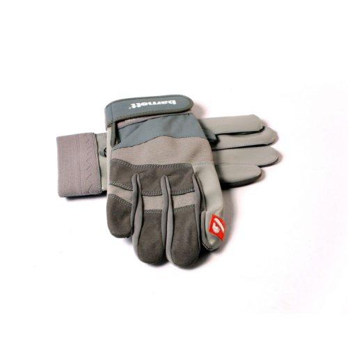 FRG-01 American Football Handschuhe Receiver, Farbe silber, Gr L