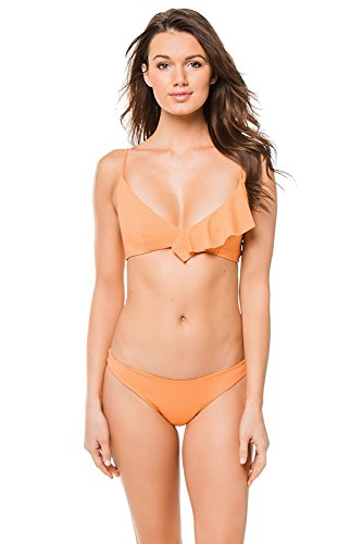 Marysia Women's Newport Classic Bikini Top Terracotta M by Marysia