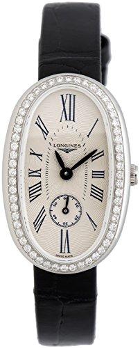 Longines-Symphonette-Medium-Steel-Diamond-Womens-Strap-Watch-L23060710