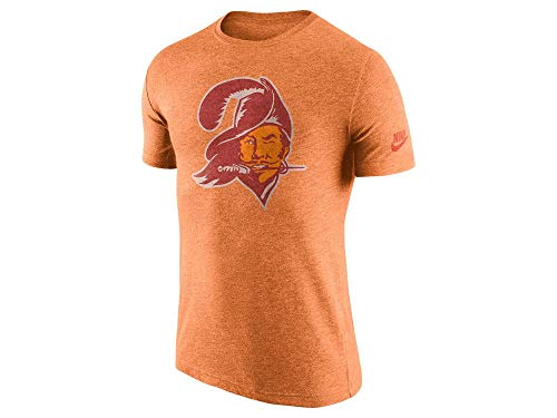Nike Tampa Bay Buccaneers Tri-Blend Historic Logo T-Shirt (Small) ()