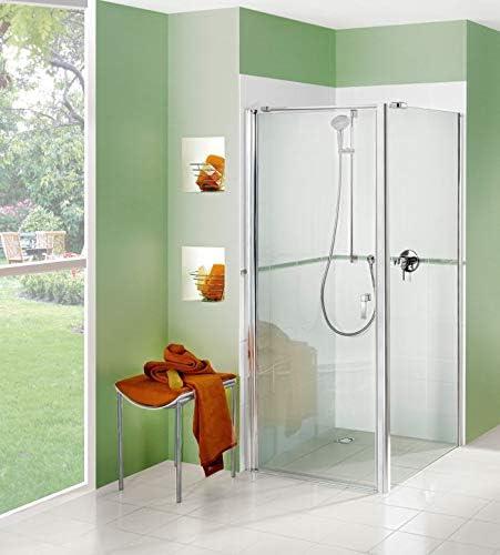 Puerta de ducha con pared lateral de hasta 1100 x 1600 x 2200 mm ...