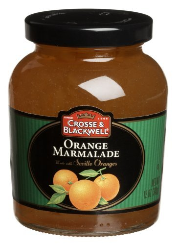 (Crosse & Blackwell Orange Marmalade, 12-Ounce Jars (Pack of 6) by Crosse & Blackwell )