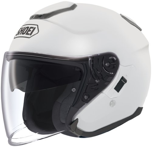 Shoei Unisex Adult J-Cruise Open Face White Helmet 0130-0109-07
