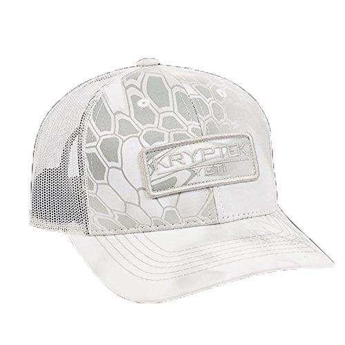 f466b8101c606 Kryptek Yeti  White Mesh Backed Patch Hat