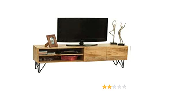Mueble para Televisor o mesa para TV Vintage industrial de madera ...