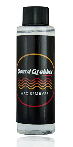 Surfing Wax Liquid Citrus Smell Remover Cleaner for Your Surf Board; Restore Your Board's Original Shine by Board Grabber by Board Grabber