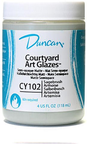 Duncan Courtyard Art Glazes (Sagebrush) 3 pcs sku# 1842846MA