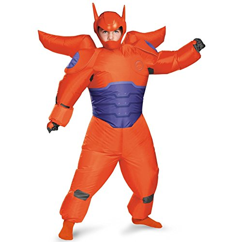Big Hero 6 - Red Baymax Inflatable Child Costume - Child Size 6-10