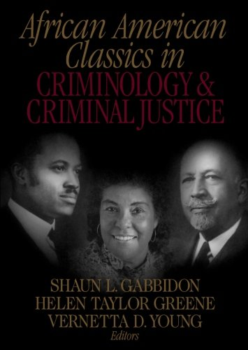 Books : African American Classics in Criminology and Criminal Justice