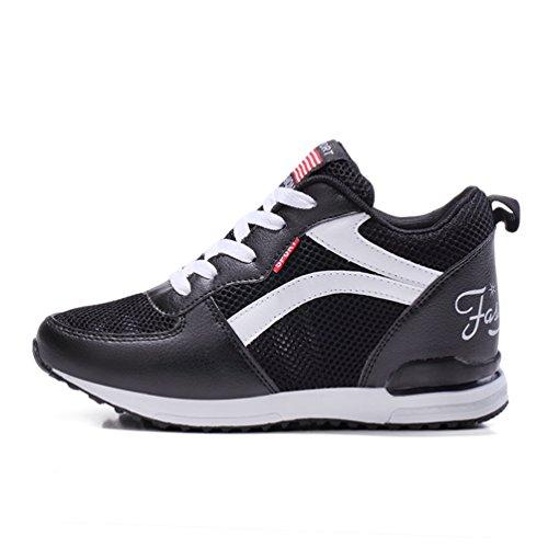 l'intérieur à Casuel pour CM Montante Basket 40 Endurance Compensé 5 34 Sneakers Mode Tendance LFEU Montante la de Recommandez Promenade Femme Taille Chaussure Un Antidérapant Plus 3 Y6n0O