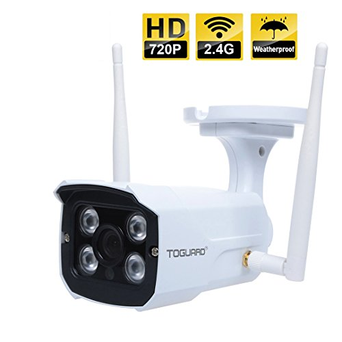 Toguard Wireless Waterproof Night Vision Home Security Ip