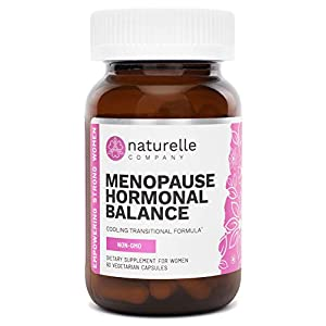 Gut Health Shop 41uqYZCmBOL._SS300_ Naturelle Menopause Hormonal Balance - Natural Menopause Support Vitamins, Hot Flushes, Night Sweat Relief Supplements…
