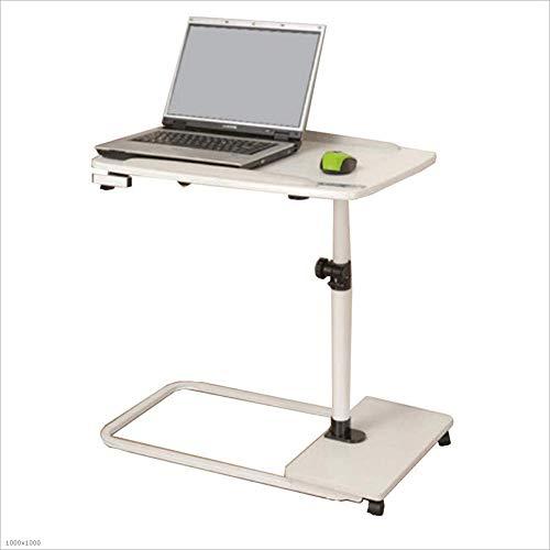 YANFEI Escritorio de la computadora Inicio Fácil de Mover Mesa ...
