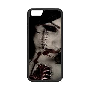 Iphone 6 Bloody girl Phone Back Case Personalized Art Print Design Hard Shell Protection JK073508