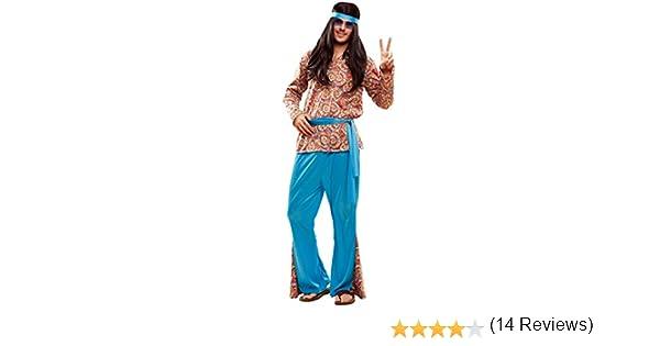 My Other Me Me-201990 Disfraz de hippie psicodélico para hombre ...