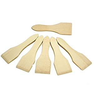 BICB Wooden Raclette Spatula (Set of 6)