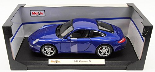 Amazon.com: Maisto 31692 Porsche 911 Carrera S Red 1/18 Diecast Model Car: Toys & Games