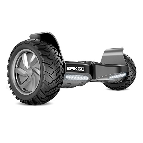"""EPIKGO Self Balancing Scooter Hover Self-Balance Board – UL2272 Certified, All-Terrain 8.5"""" Alloy Wheel, 400W Dual-Motor, LG Smart Battery, Hover Through Tough Road Condition [Classic Series]"""