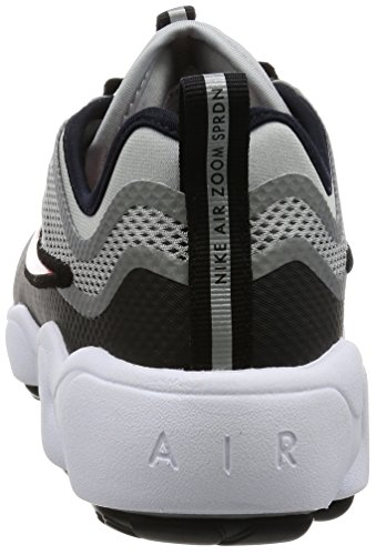 Zapatillas Nike Hombres Zoom Sprdn Para Correr Plata Metálica / Rojo Desert