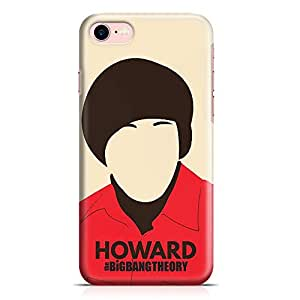 Loud Universe iPhone 8 Case The big bang theory Case Howard Tv Show New Slim Wrap Around iPhone 8 Cover