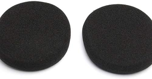1PC Ear Pad Soft Foam Noise Isolating Replacement Earbud Covers Headphones Cushions For Logitech H800&(color:black)