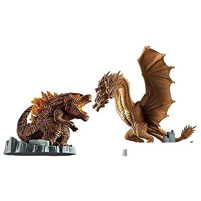 JPT Godzilla&King Ghidorah Set 2020 Deformation King Godzilla: Toys & Games