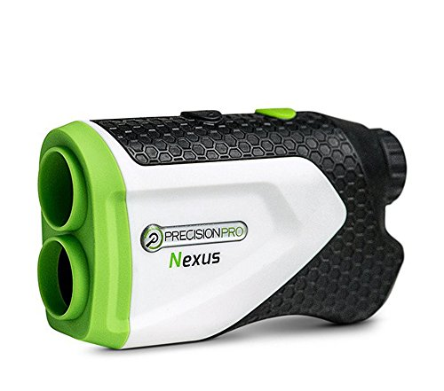Precision Pro Golf Nexus Golf Rangefinder - Laser Golf Range Finder Accurate To 1 Yard, 400 Yard Range, 6X Magnification, Carrying Case
