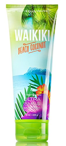 Bath Body Works Ultra Shea Body Cream Waikiki Beach Coconut 2015