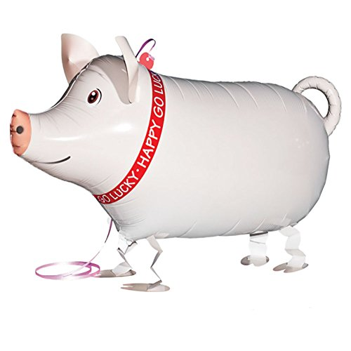 My Own Pet Balloons Pig Farm Animal (Pig Walking)