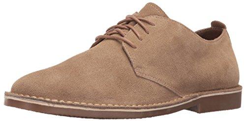Nunn Bush Men Gordy Oxford, Sand Suede, 10.5 (Nunn Bush Colton Mens Leather Walking Shoes)