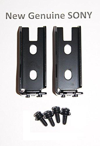 2x New Genuine Sony TV Stand Neck Necks & 4 Screws For KD-49XD7 KD-55XD7 KD-49XD7004 KD-49XD7005 KD-55XD7005 KD-55XD7004 XBR-55X700D XBR-49X700D XBR-55X705D XBR-49X705D XBR-55X707D XBR-49X707D