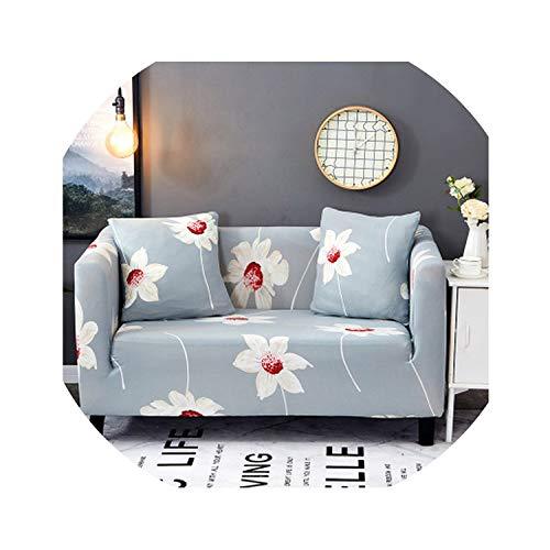 Carrie Sofa Slipcover 1PC Elastic Sofa Cover Tight Wrap Stretch Sofa Cover Anti-Mite Sofa Towel Single/Two/Three/Four-Seater,Pattern 5,Double 145-185cm (Karlstad Corner Sofa 2 3 3 2)