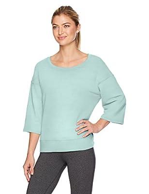 Danskin Women's Lounge Wide-Neck Pullover