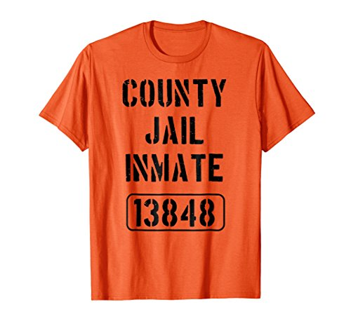 (Youth Prison Costume Shirt | County Jail Inmate)