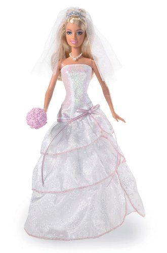 Amazon.com: Barbie Sparkle Wedding Day Bride: Toys & Games