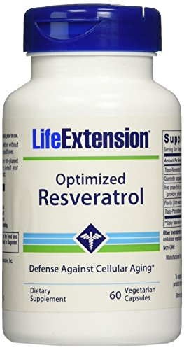 Life Extension Optimized Resveratrol, 60 Vcaps