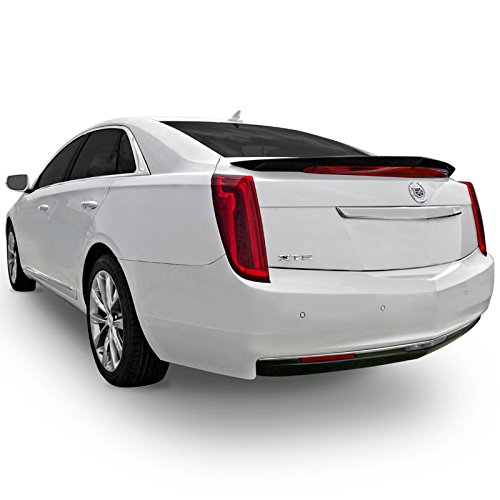 Dawn Enterprises XTS13-FM Custom Style Flush Mount Spoiler Compatible with Cadillac XTS - Sapphire Blue Metallic WA122V (GXH)