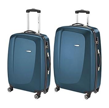 Gabol Line Juego de 2 Maletas, Color Azul, 90 litros: Amazon.es: Equipaje