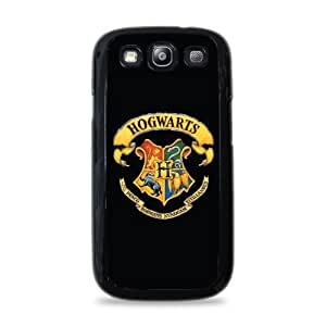 558 Hogwarts Crest Samsung Galaxy S3 Hardshell Case - Black