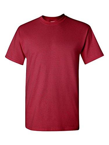 Cotton T-Shirt, Medium, Cardinal Red ()