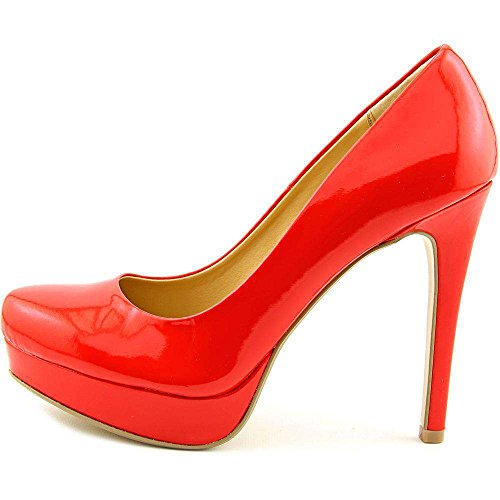 Chinese Laundry Womens Wonder Closed Toe Platform Pumps, Red, Size 5.5