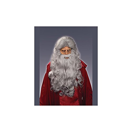 Deluxe Adult Moses Wig and Beard (Moses Wig And Beard Adult Costumes Set)