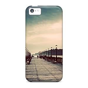 Excellent Design Promenade Hd Phone Case For Iphone 5c Premium Tpu Case