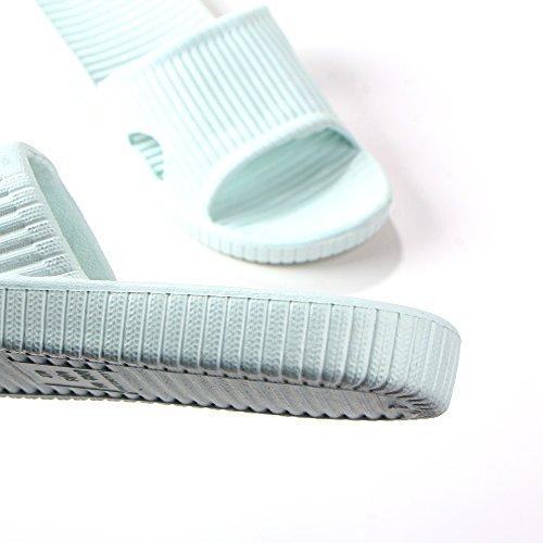 Women Bathrooom Indoor Open Quick Slip Green Non Shower Grass Flat Dry Slippers Slipper Sandals House Toe Fineme Slippers 5dRqPw5